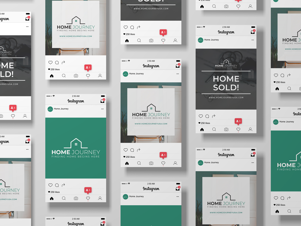 Home Journey - Social Graphics