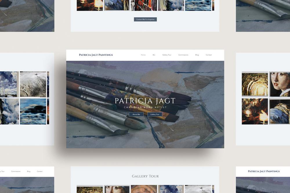 Patricia Jagt Website Design