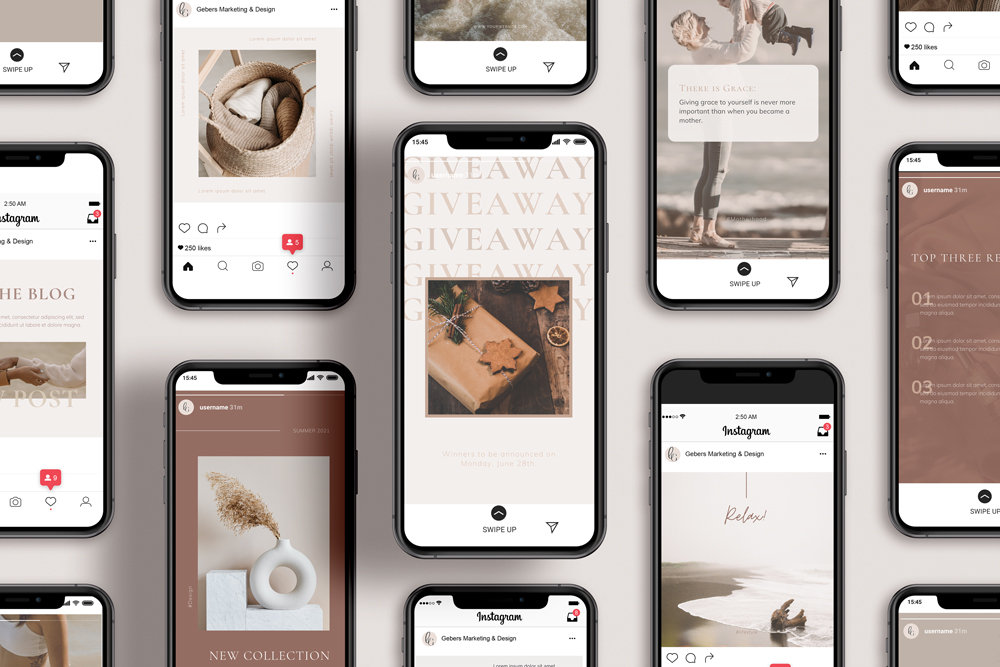 Instagram Post & Story Templates - Calafate Collection